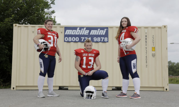 Mobile Mini helps send GB player to the American Football Women's World Championship