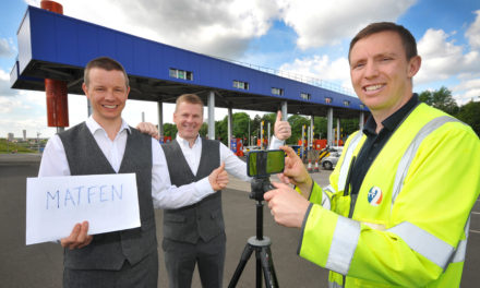 Glastonbury groom visits Tyne Tunnel for wedding day skit