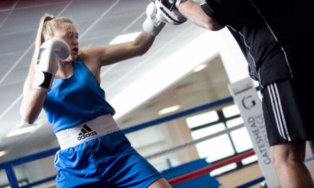 Teenage boxing champion on talent pathway to national success