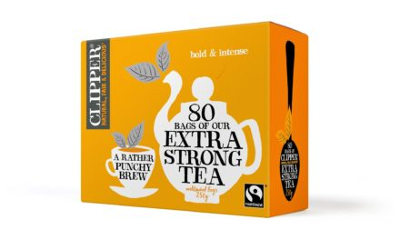 Clipper introduces new punchy brew : Clipper Extra strong