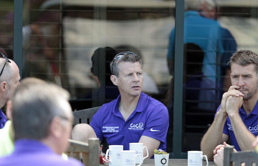 Steve Cram BMW for hole in one