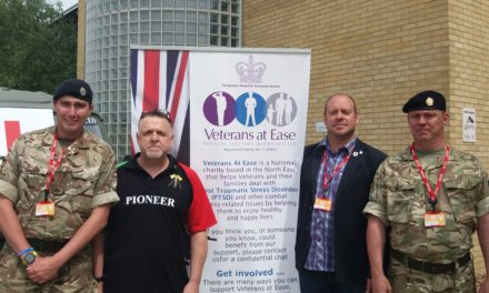 Army veteran marks Armed Forces Day with work based fundraiser
