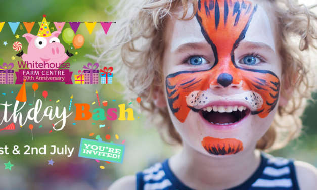 PARTY ON THE FARM! Come and celebrate Whitehouse Farm Centre's 20th birthday