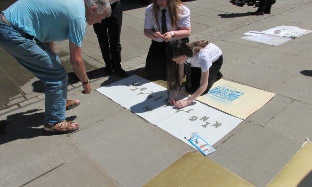 Schools art project raises awareness of climate change