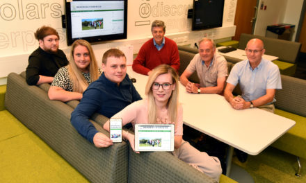 Ramblers find new direction with help from Teesside students