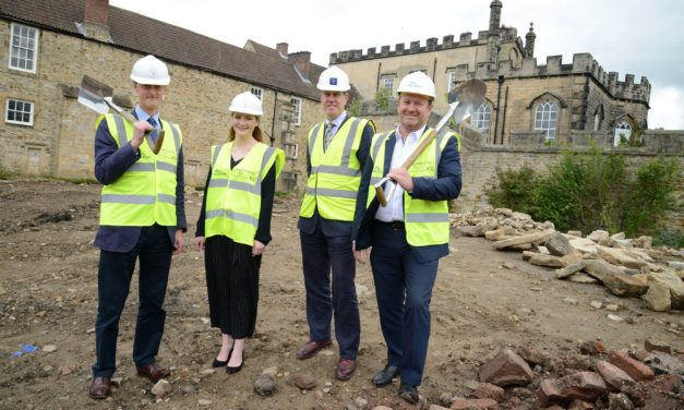 North East Contractors Appointed for Castle Restoration