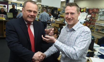 Hartlepool businessman and charity champion crowned a Teesside hero