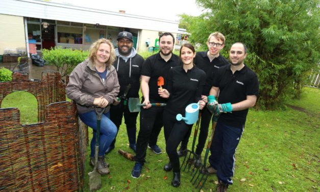 Deloitte staff turn out to help the community
