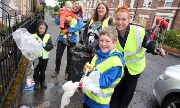 Eight-year-old Wilf is role model for volunteering