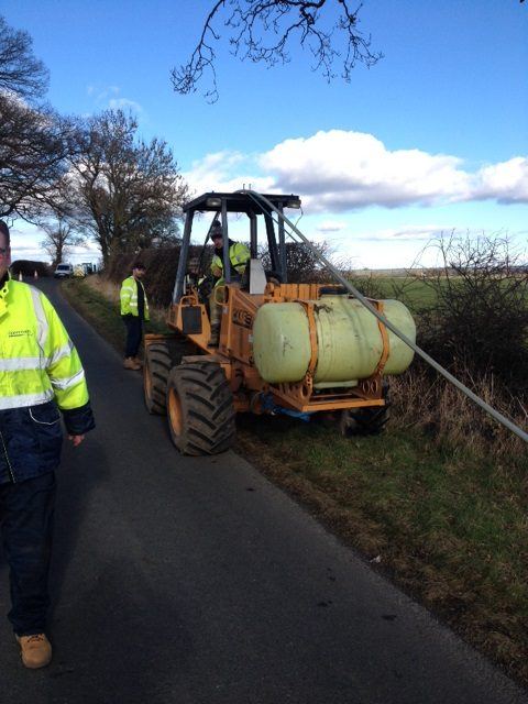 Northumberland Engineers Use Technology, Conservation and a Fishing Rod to bring Fibre Broadband to the County