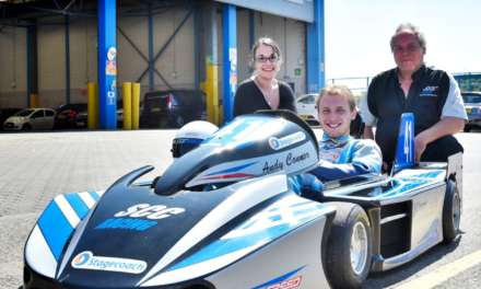 Bus Firm takes on New Wheels with Superkart Sponsorship