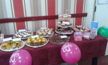 Thornaby care home's charity cupcake sale