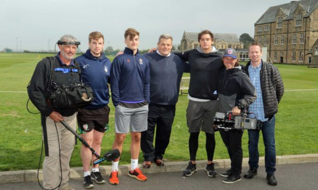 Top rugby player returns to film school after breaking into American football