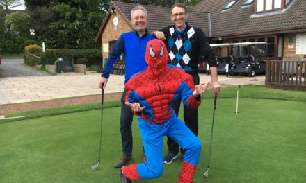 Superheroes club together for cancer charity fundraiser