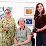 Bursting into Bloom at Free Art Exhibition