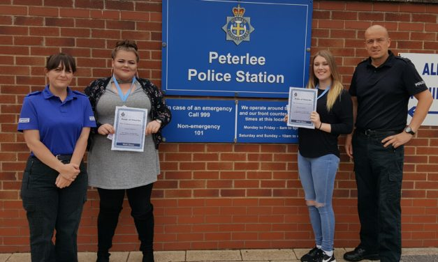 Pride of Peterlee award puts the spotlight on young community heroes