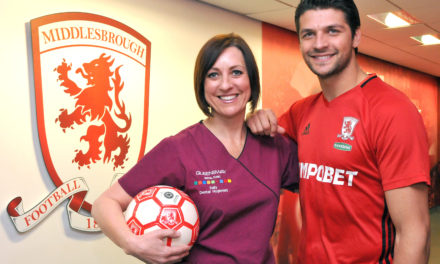 Queensway Dental kick starts Middlesbrough FC's oral health agenda