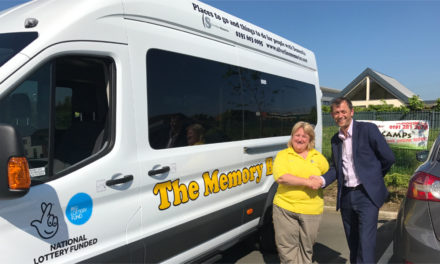 Dementia charity purchases mini bus after funding success