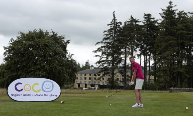 Sports stars tee off with Steve Cram to raise thousands for charity