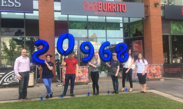 Barburrito intu Metrocentre to donate sales to Teenage Cancer Trust