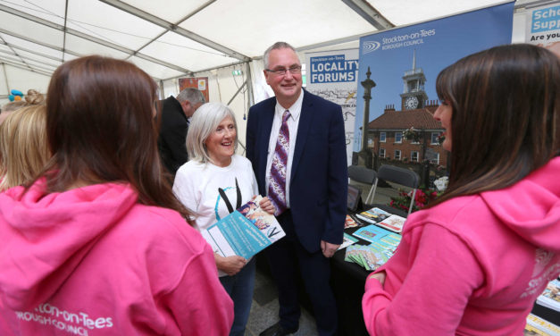 Volunteers' Market a Success in Stockton