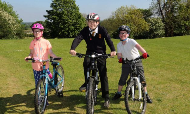Cycling course boosts students' self-esteem