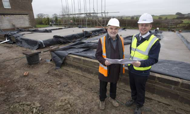 New affordable homes for Northumberland village
