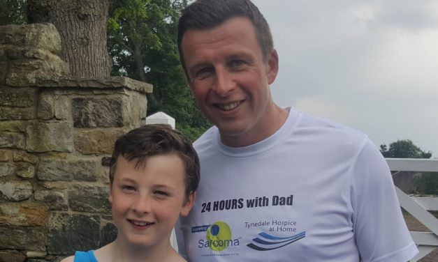Charity fundraising is a family affair