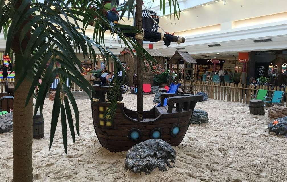 Pirate beach pops up in Sunderland