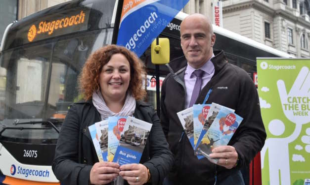 Stagecoach North East Celebrates 'Journey Time' During 'Catch the Bus Week'