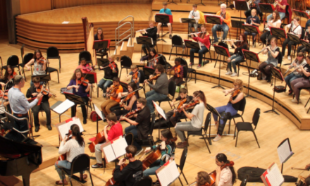 Newcastle young people perform on world-class stage with Liverpool Philharmonic Youth Orchestra