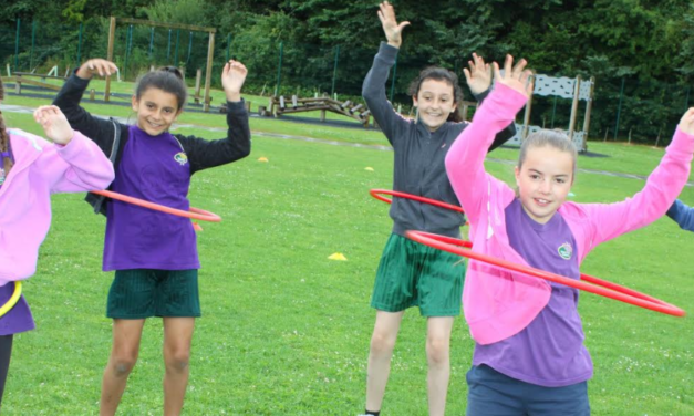 Pupils end school days with sports