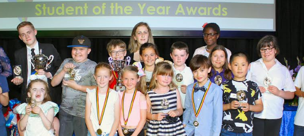 Students rewarded for their efforts