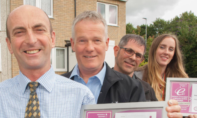 Council praised in housing awards