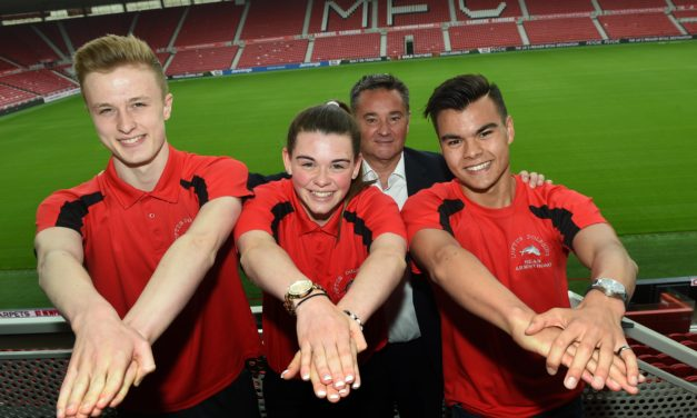 £5,000 Boost has Tees Gymnasts Bouncing