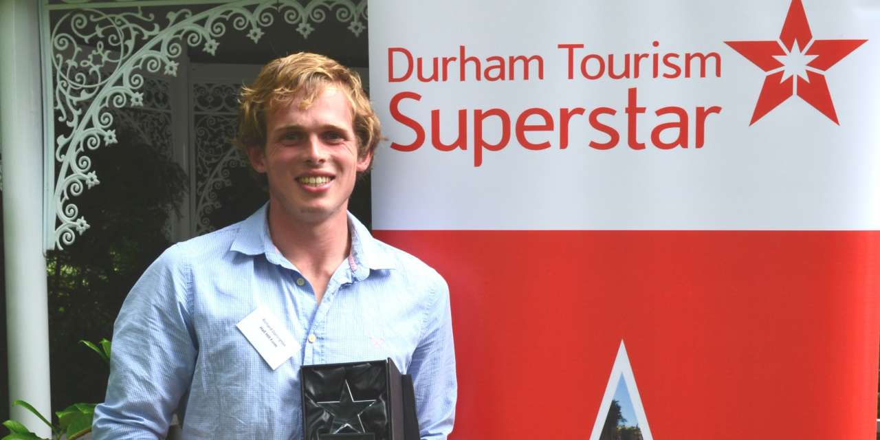 Northern Young Farmer of the Year named Durham Tourism Superstar 2017
