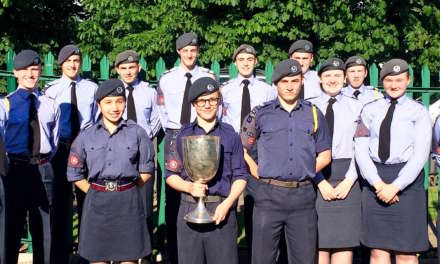 Longbenton Air Cadets Land 1 st Place!
