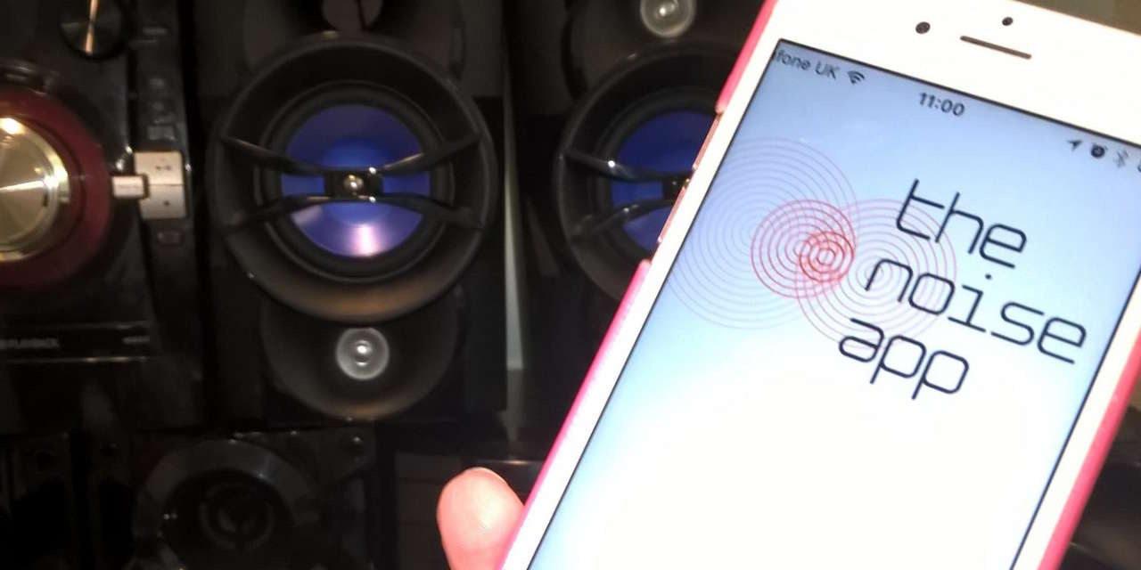 Noise App helps residents tackle noise disturbance