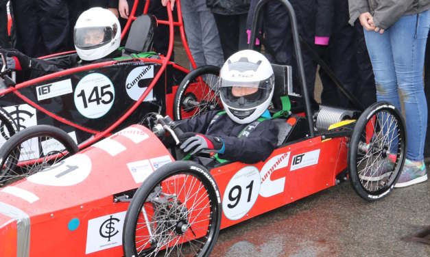 Budding race engineers hit the track
