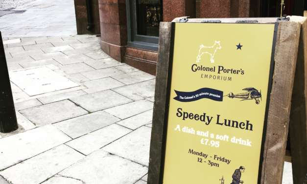 Speedy lunches for diners on a deadline