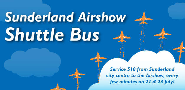 Shuttle Bus Service for Sunderland Airshow