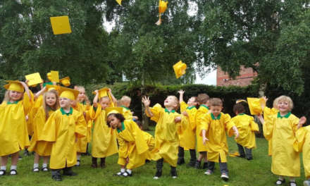 The Montessori People celebrate their class of 2017 in style