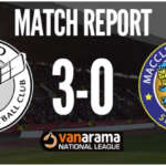 Match Report: Gateshead FC 3 – 0 Macclesfield Town