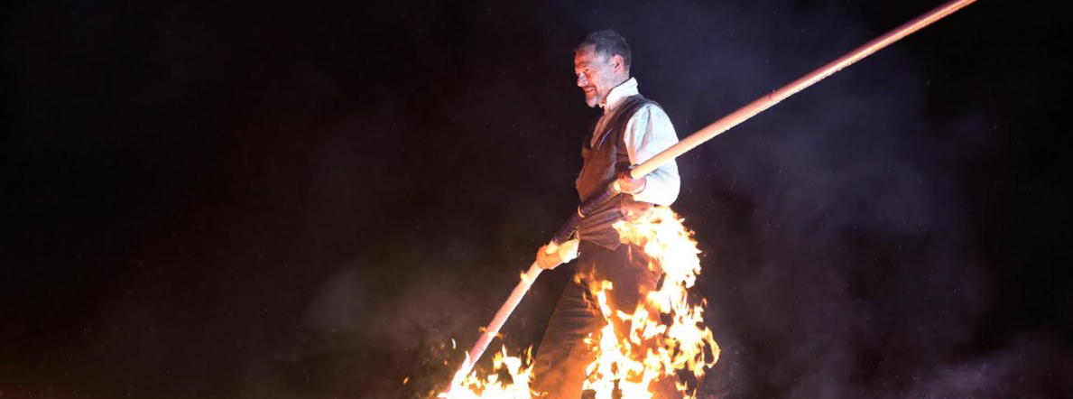 'High Wire on Fire' Finale Brings Stockton International Riverside Festival to a Heart Stopping Close