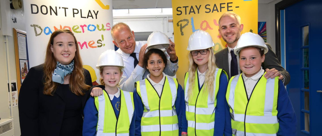 Safety First: David Wilson Homes North East educates local school on safety around construction sites