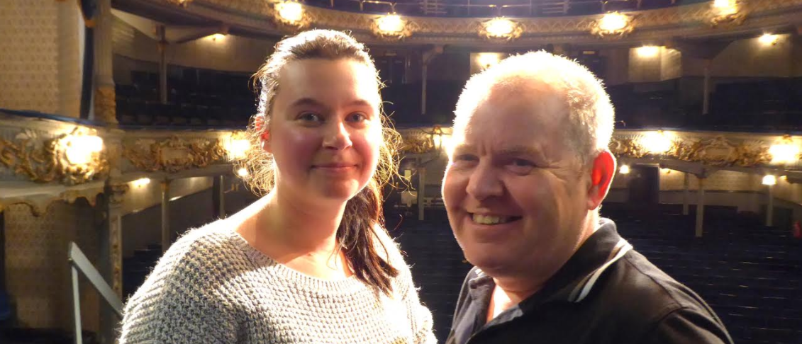 Treble celebrations at historic theatre for charity