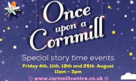 Once upon a time at Cornmill Shopping Centre