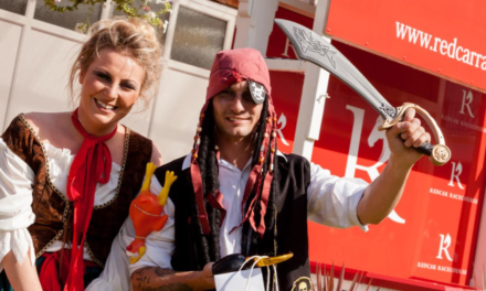 Pirates read to invade Redcar Races