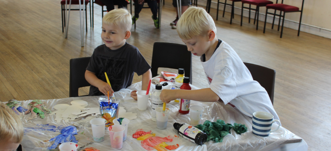 Summer craft events for Blyth children