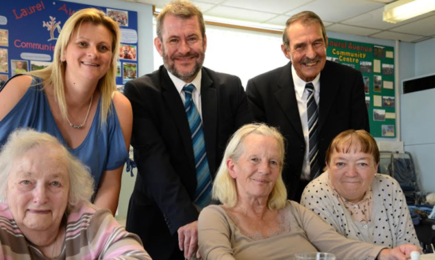 Community Lunch Club Stays on the Menu for Durham OAPs Thanks to Newcastle Building Society Grant